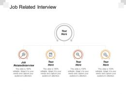 Job Related Interview Ppt Powerpoint Presentation Icon Example Introduction Cpb