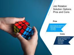 Job Rotation Solution Options Pros And Cons