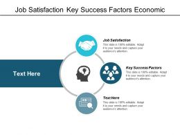 Job Satisfaction Key Success Factors Economic Transformation Corporate Accounting Cpb