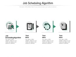 Job Scheduling Algorithm Ppt Powerpoint Presentation Gallery Summary Cpb