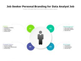 Job Seeker Personal Branding For Data Analyst Job