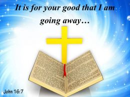 John 16 7 I Will Send Him To You Powerpoint Church Sermon