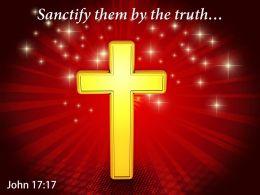 John 17 17 The Truth Your Word Power Powerpoint Church Sermon