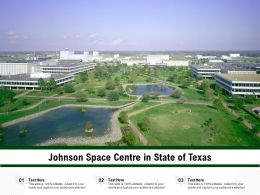 Johnson Space Centre In State Of Texas