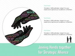 Joining Hands Together For Strategic Alliance