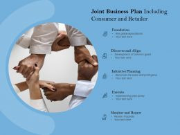Joint Business Plan Including Consumer And Retailer