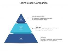 Joint Stock Companies Ppt Powerpoint Presentation Infographic Template Display Cpb