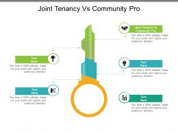 Joint Tenancy Vs Community Pro Ppt Layouts Layout Cpb