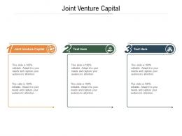 Joint Venture Capital Ppt Powerpoint Presentation Infographic Template Information Cpb