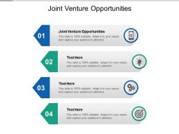 Joint Venture Opportunities Ppt Powerpoint Presentation Show Rules Cpb