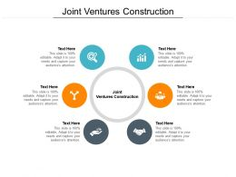 Joint Ventures Construction Ppt Powerpoint Presentation Styles Aids Cpb