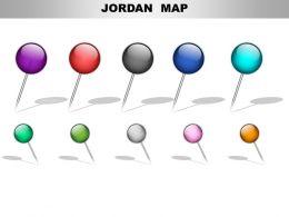 Jordan Country PowerPoint Maps