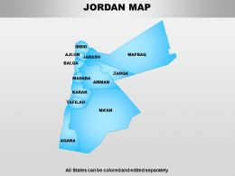 Jordan Powerpoint Maps