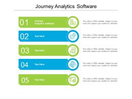 Journey Analytics Software Ppt Powerpoint Infographic Template Background Designs Cpb