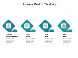 Journey Design Thinking Ppt Powerpoint Presentation Gallery Example Cpb