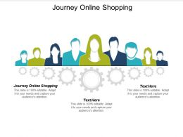 Journey Online Shopping Ppt Powerpoint Presentation Icon Example Topics Cpb