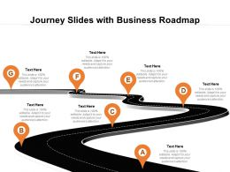 Journey Slides With Business Roadmap