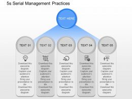 jq 5s Serial Management Practices Powerpoint Template