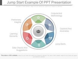 Jump Start Example Of Ppt Presentation