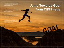 Jump Towards Goal From Cliff Image