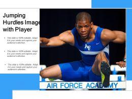 Jumping Hurdles Image With Player