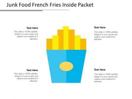 Junk Food French Fries Inside Packet