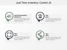 Just Time Inventory Control Jit Ppt Powerpoint Presentation Infographic Template Layouts Cpb