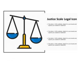 Justice Scale Legal Icon