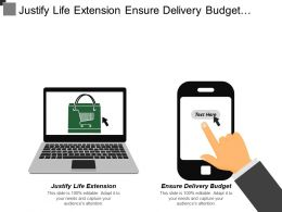 Justify Life Extension Ensure Delivery Budget Improved Discharge