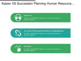 Kaizen 5s Succession Planning Human Resource Management Resource Feasibility Cpb