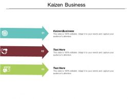 Kaizen Business Ppt Powerpoint Presentation File Picture Cpb