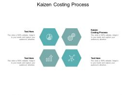 Kaizen Costing Process Ppt Powerpoint Presentation Model Deck Cpb