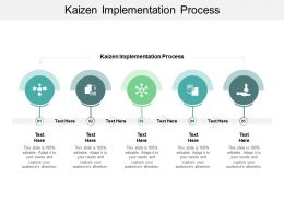 Kaizen Implementation Process Ppt Powerpoint Presentation Gallery Samples Cpb