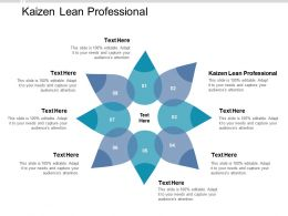 Kaizen Lean Professional Ppt Powerpoint Presentation Styles Layout Cpb