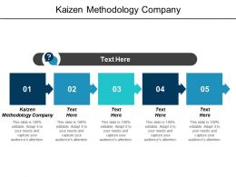 Kaizen Methodology Company Ppt Powerpoint Presentation Infographic Template Skills Cpb