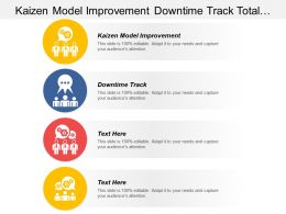 Kaizen Model Improvement Downtime Track Total Quality Management Cpb