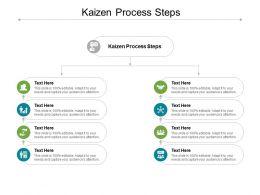 Kaizen Process Steps Ppt Powerpoint Presentation File Portfolio Cpb