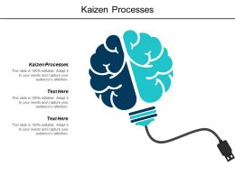 Kaizen Processes Ppt Powerpoint Presentation Infographic Template Slide Portrait Cpb