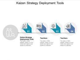 Kaizen Strategy Deployment Tools Ppt Powerpoint Presentation Model Outfit Cpb