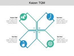 Kaizen TQM Ppt Powerpoint Presentation Guidelines Cpb
