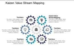 Kaizen Value Stream Mapping Ppt Powerpoint Presentation Professional Layout Cpb