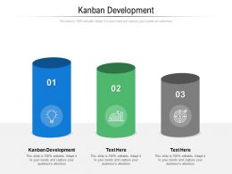 Kanban Development Ppt Powerpoint Presentation Layouts Example Introduction Cpb