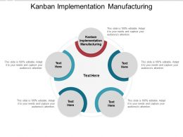 Kanban Implementation Manufacturing Ppt Powerpoint Presentation Inspiration Cpb