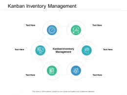 Kanban Inventory Management Ppt Powerpoint Presentation Gallery Structure Cpb