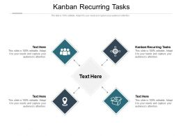 Kanban Recurring Tasks Ppt Powerpoint Presentation Portfolio Background Cpb