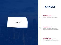 Kansas Powerpoint Presentation PPT Template