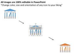 kb_bank_building_with_broken_pillar_flat_powerpoint_design_Slide02