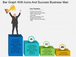 kb_bar_graph_with_icons_and_success_business_man_flat_powerpoint_design_Slide01