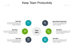 Keep Team Productivity Ppt Powerpoint Presentation Outline Background Designs Cpb