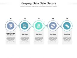 Keeping Data Safe Secure Ppt Powerpoint Presentation Layouts Graphics Tutorials Cpb
